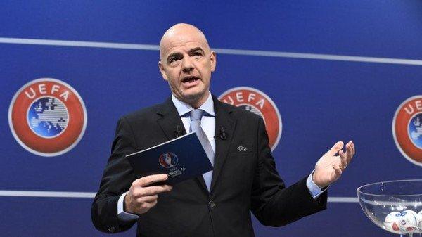 Gianni Infantino FIFA president