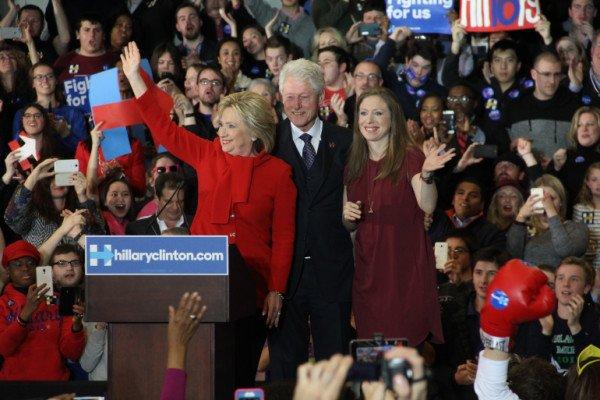 Hillary Clinton Iowa caucus