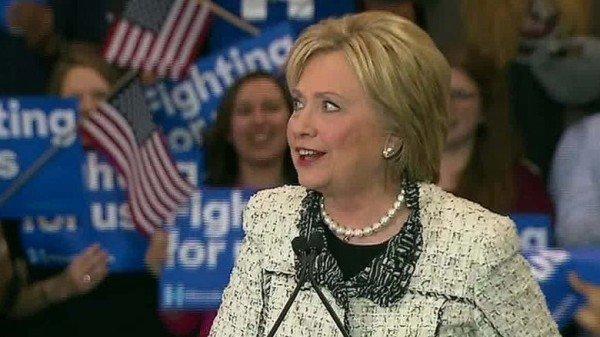 Hillary Clinton's victory in South Carolina