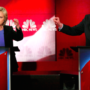 Hillary Clinton Clashes with Bernie Sanders in First One-To-One Democratic Debate