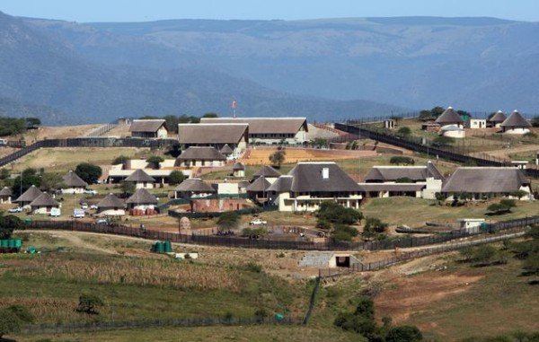 Jacob Zuma Nkandla upgrade