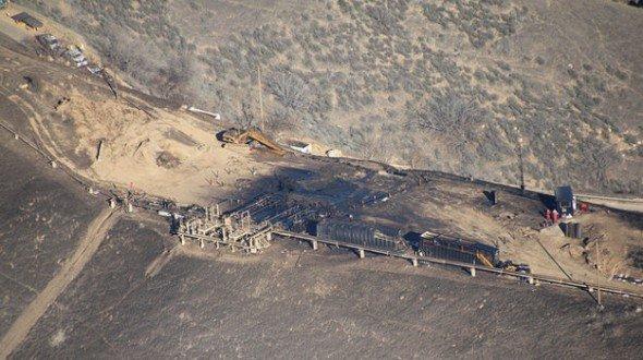 Los Angeles methane leak