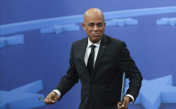Michel Martelly ends term