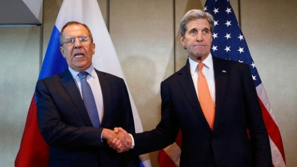Sergei Lavrov and John Kerry Munich talks on Syria