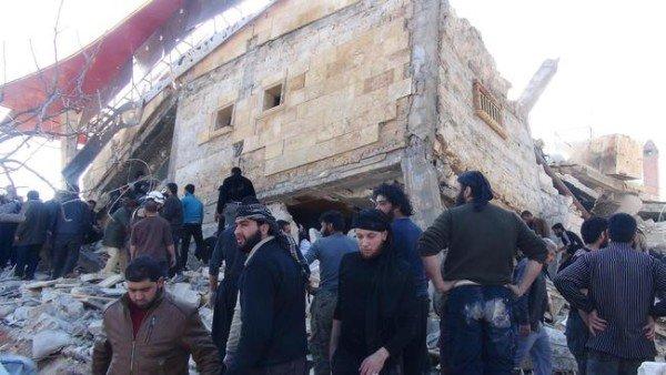 Syrian hospital airstrike