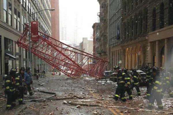 Tribeca crane collapse