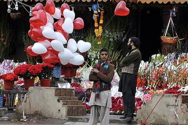 Valentine's Day ban Pakistan