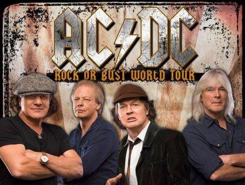 AC DC stop US touring