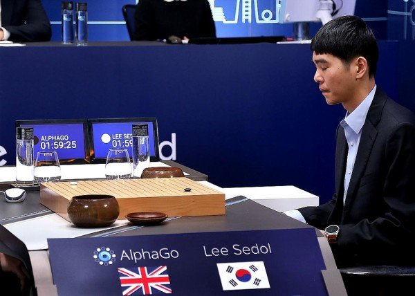 AlphaGo vs Lee Se dol