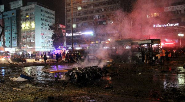 Ankara bomb attack March 2016