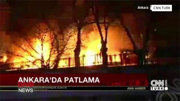 Ankara explosion Guven Park
