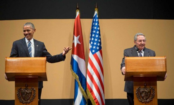 Barack Obama and Raul Castro news conference Havana