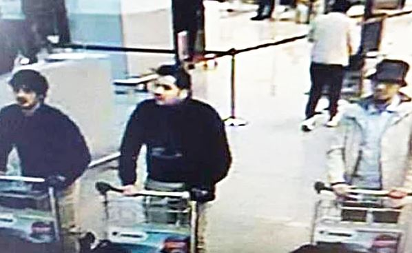 Brussels third attacker CCTV