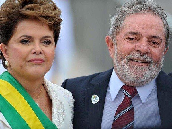 Dilma Rousseff and Luiz Inacio Lula da Silva