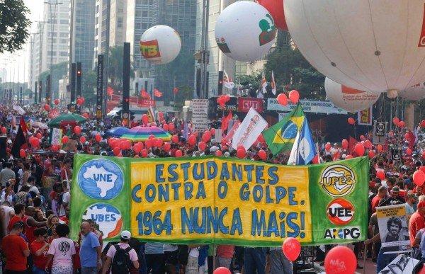Dilma Rousseff rally Brasilia