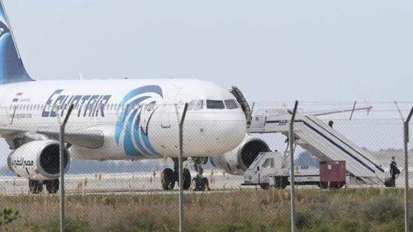 EgyptAir hijacking Larnaca