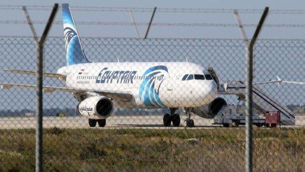 Egyptair hijack Larnaca airport