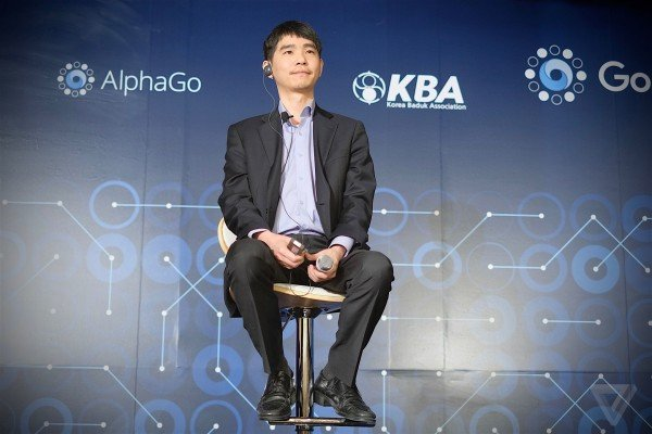 Lee Se dol v Google AlphaGo