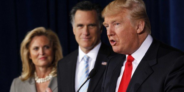 Charges against Mitt Romney Donald Trump