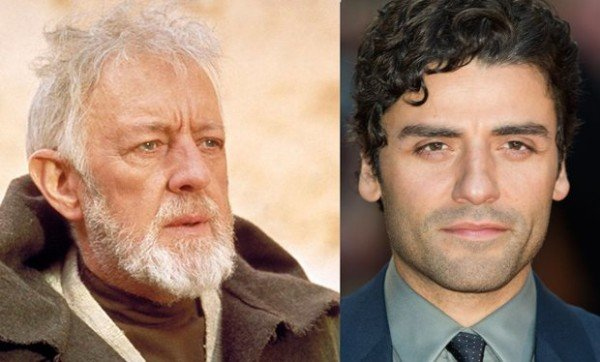 Oscar Isaac and Alec Guinness letter