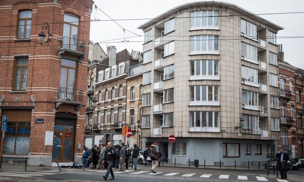 Schaerbeek arrests following Brussels attacks
