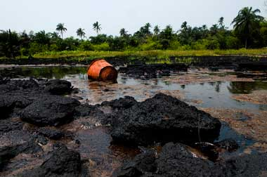 Shell Nigeria oil spill