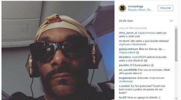 Snoop Dogg and Visit Bogata