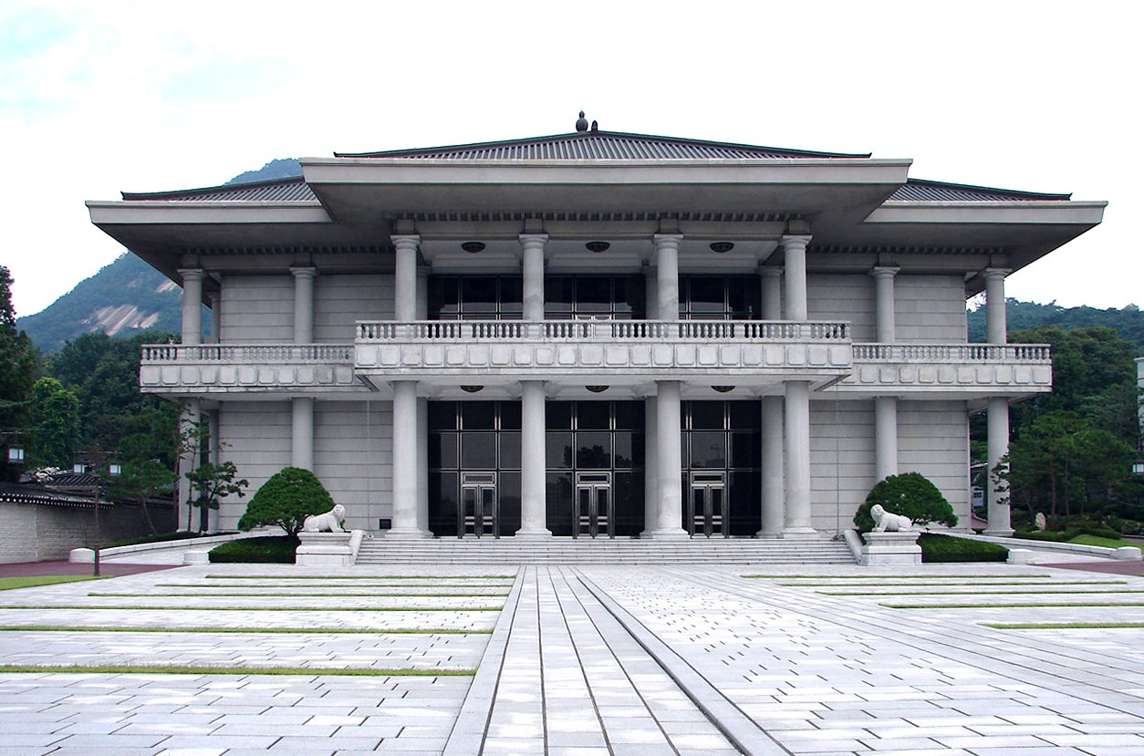 North korea simulates attack on official residence of - Mansions in south korea ...