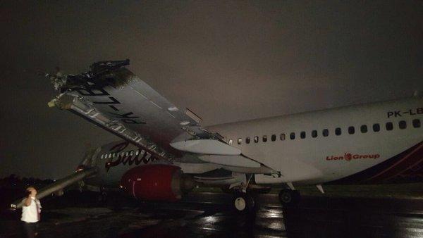 Batik Air collision Jakarta runway