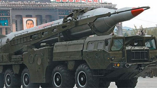 North Korea Musudan missile
