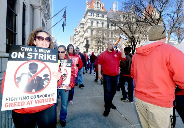 Verizon strike 2016