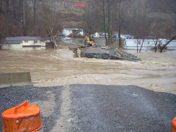 West Virginia flooding 2016