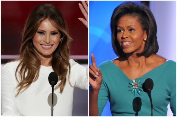 Melania Trump Michelle Obama plagiarism