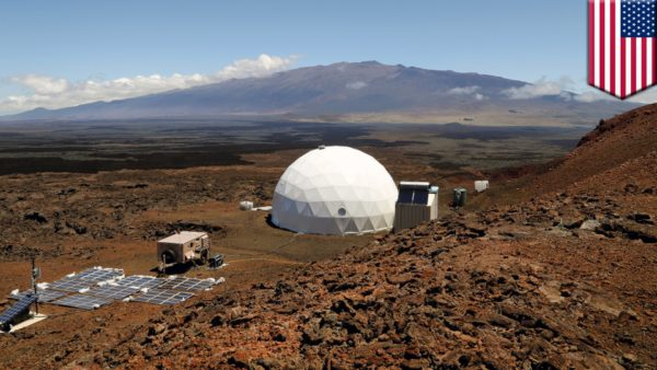 NASA Mars simulation Hawaii