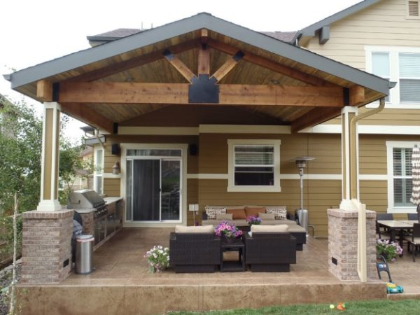Wood vs Alumawood Patio Covers: The Pros and Cons ... on Patio Cover Ideas Images id=34349
