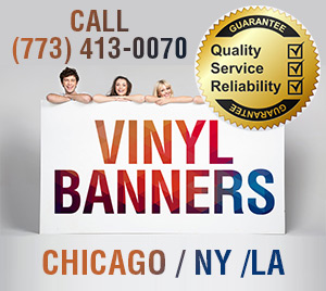 Custom vinyl banners